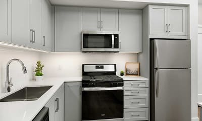 Kitchen, Avalon Monrovia, 1
