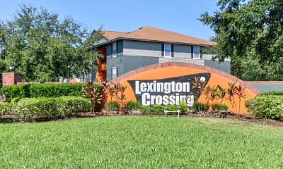 Community Signage, Lexington Crossing - Per Bed Lease, 2