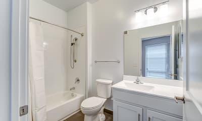 Bathroom, Mills Place, 2