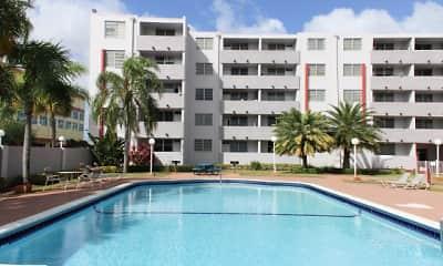 Pool, Suncoast Place Apartments, 2