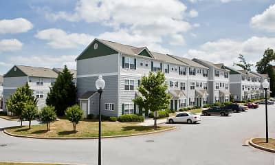 Building, University Village Clemson, 1