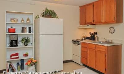 Kitchen, Fox Park Apartments, 1