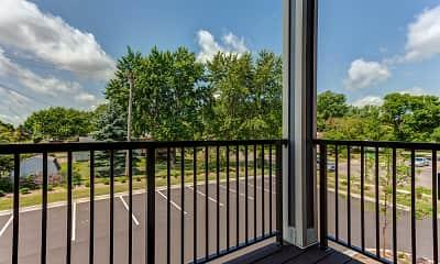 Patio / Deck, Apple Villa Apartments II, 2