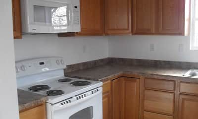 Kitchen, Blarney Stone Investments Apartments, 0