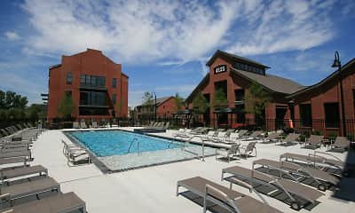 Pool, Hayden Lofts, 1