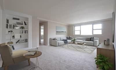 Living Room, Oakwynne House, 0