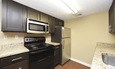 Kitchen, Heatherstone Apartment Homes, 0