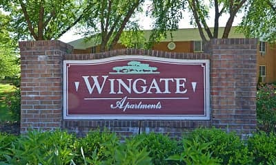 Community Signage, Wingate Apartments, 2
