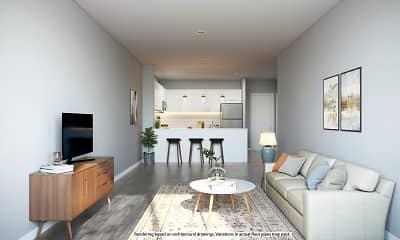 Living Room, Saddle Brook Landings, 1
