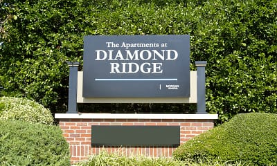 Community Signage, The Apartments at Diamond Ridge, 2