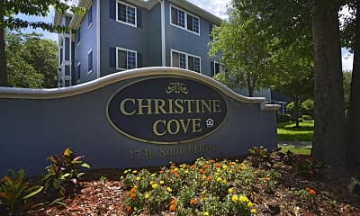 Community Signage, Christine Cove Apartments, 2