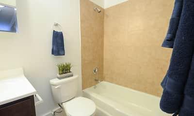 Bathroom, 6710 N. Sheridan, 2