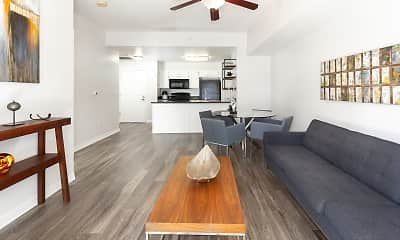 Living Room, Elevate on 5th Apartments!, 1
