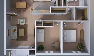 Roxalana Hills Apartments, 1