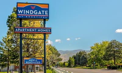 Community Signage, Windgate, 2