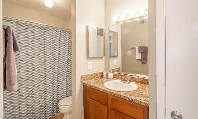 Bathroom, Wesley Gardens, 2