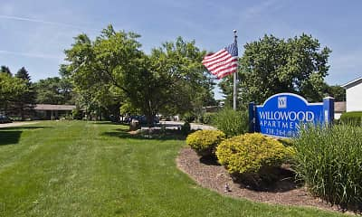 Community Signage, Willowood Apartments, 2