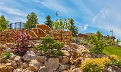 Community Signage, Triton Terrace, 2