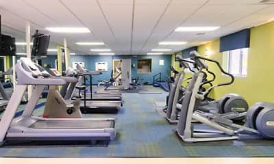 Fitness Weight Room, Huntington Green, 2