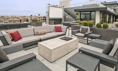 Patio / Deck, The Louis, 2