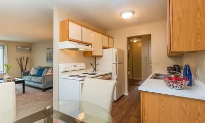 Kitchen, Windsor South Apartments, 1