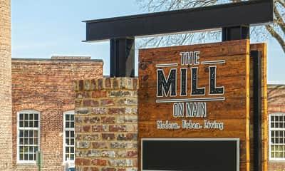 Community Signage, Mill on Main, 2