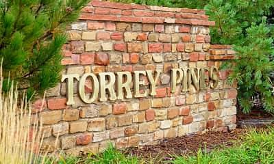 Community Signage, Torrey Pines, 1