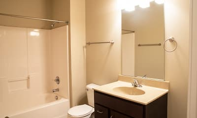 Bathroom, West Towne Flats, 2