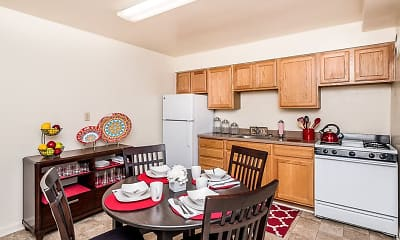 Kitchen, Cross Country Manor, 0