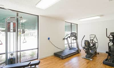 Fitness Weight Room, Shady Road Villas, 2