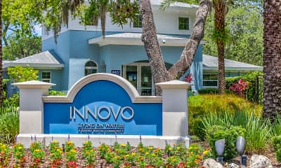 Community Signage, Innovo Living on Waters, 2