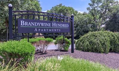 Community Signage, Brandywine Hundred Apartments, 2