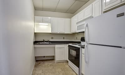 Kitchen, Grand Prix Apartments, 0