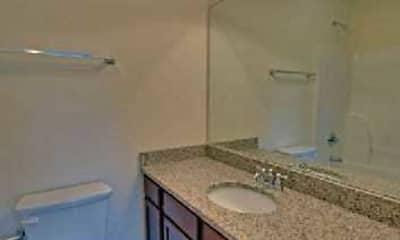 Bathroom, Whitehall Terrace Apartments, 2