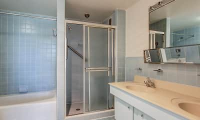 Bathroom, Willard Towers, 2