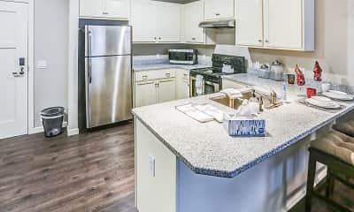Kitchen, Chateau at Heritage Square 55+ Community, 1