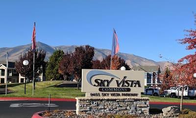 Community Signage, Sky Vista Commons North & South, 1