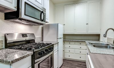 Kitchen, El Castillo Metro Apartments, 0