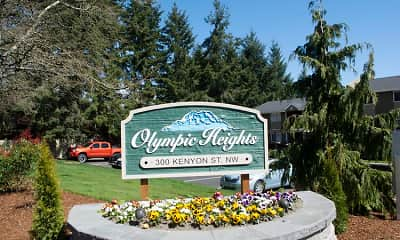 Community Signage, Olympic Heights, 1