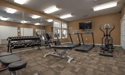 Fitness Weight Room, The Pointe of Ridgeland, 2
