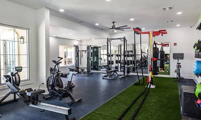 Fitness Weight Room, Baypoint, 1