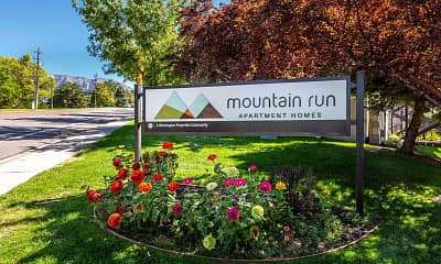 Community Signage, Mountain Run, 2