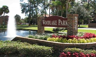 Community Signage, Woodlake Park, 0
