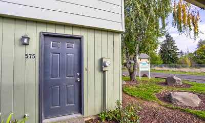 Building, Canby Garden Townhomes, 1