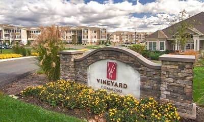 Community Signage, Vineyard Commons 55+ Senior Community, 0