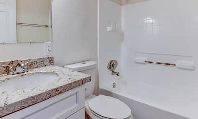 Bathroom, Palm Courts, 2