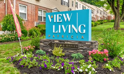 Community Signage, Patricia Apartments, 0