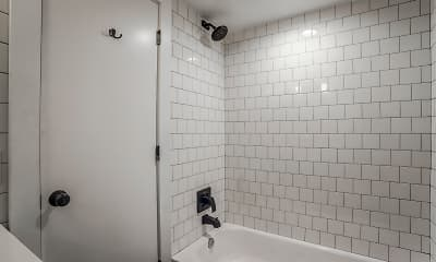 Bathroom, Flamingo Apartments, 2