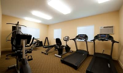 Fitness Weight Room, Country Walk Apartments, 2