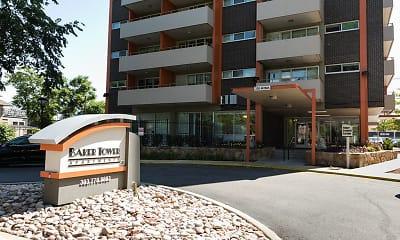 Community Signage, Baker Tower Apartments, 0